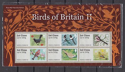 2011 Birds of Britain II (2) Royal Mail post & Go P&G UNMOUNTED MINT