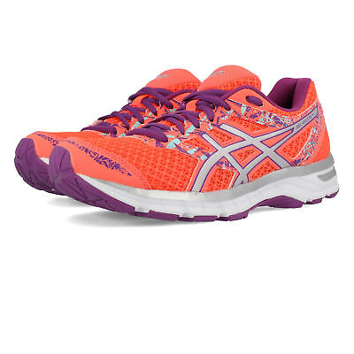 Asics Gel Excite Womens Orange Running Road Sports Shoes Trainers Pumps