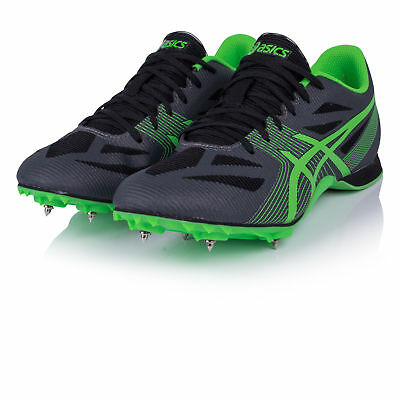 Asics Hyper MD 6 Unisex Green Black Track Field Spikes Athletics Shoes Trainers