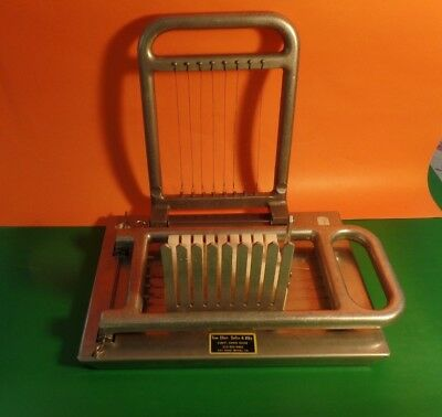 Tom Oker Vintage 3/4 in Cheese Slicer and Cuber Great For Commercial or Parties