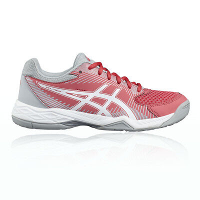 Asics Gel-Task 2 Womens Pink Squash Indoor Court Sports Shoes Trainers Pumps