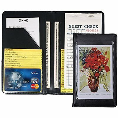 Waiter Book Server Wallet Pads Waitress Book Restaurant Waitstaff Organizer, Fit