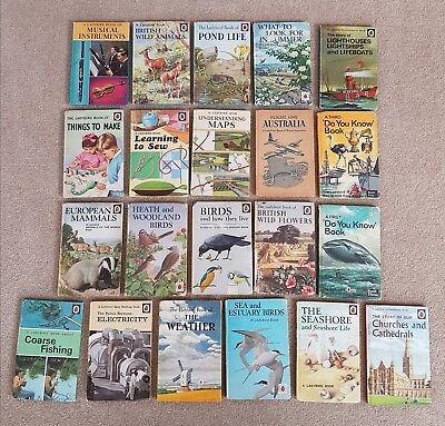Job lot of 61 Ladybird Books, includes some early editions