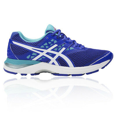 Asics Gel-Pulse 9 Womens Purple Cushioned Running Sports Shoes Trainers