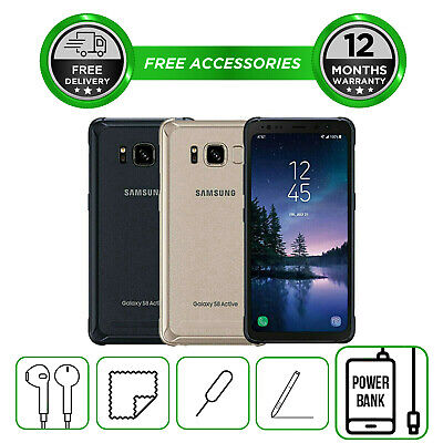 Samsung Galaxy S8 Active 64GB All Colours Unlocked to all Network Smartphone