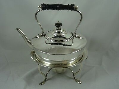SMART, solid silver KETTLE ON STAND, 1909, 915gm