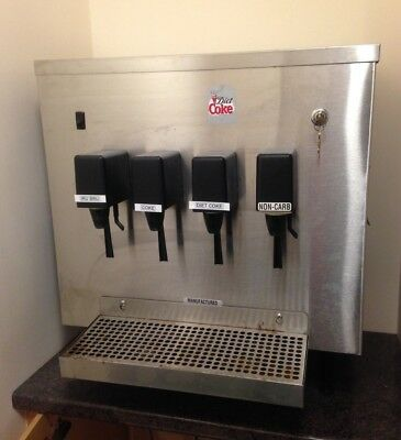 Willtec Soda/Fizzy/Soft Drink Coke Machine Dispenser Counter Top Unit Coca Cola