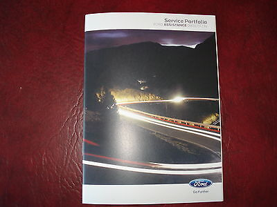 Genuine !!! Blank Ford Service History Book Petrol And Diesel Cars Not Duplicate