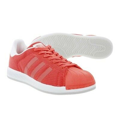 the latest f1912 8a2ed Adidas Originals Superstar Bounce Trainers, Women s Size 8 Coral Shoes  Sneakers