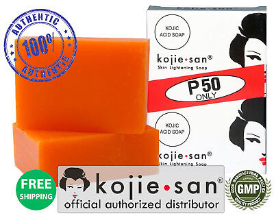 Original Kojie San Skin Lightening Soap, 65g bar-2 Pack - OFFICIAL USA KOJIESAN
