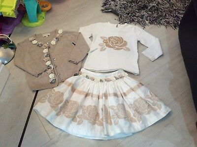 Girls Designer Couche Tot 3 Piece Outfit Age 3/4 Years