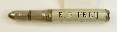 EX 1940s R. E. Frey Funeral Director Vintage Bullet Pencil So. Sterling, PA