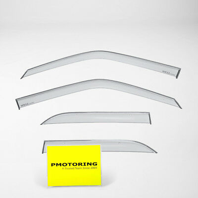 WellVisors Side Window Deflectors Mercedes Benz W201 190E 84-93 Clip-on Series