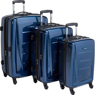 Samsonite Winfield 2 Fashion Hardside 3 Piece Spinner Set - Deep Blue (56847-127
