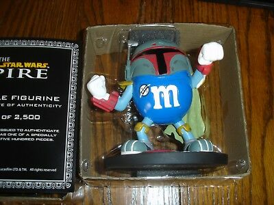 M&M Hasbro Star Wars MPIRE Collectible Limited Edition Figurine #2360 of 2500