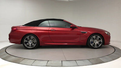 BMW M6 2dr Convertible 2dr Convertible M6 Convertible Low Miles Automatic Gasoline 4.4L 8 Cyl Sakhir Or
