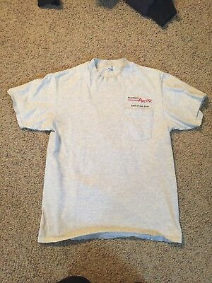 Southern Pacific End Of The Line T Shirt S Railroad Csx Conrail Up BN vintage