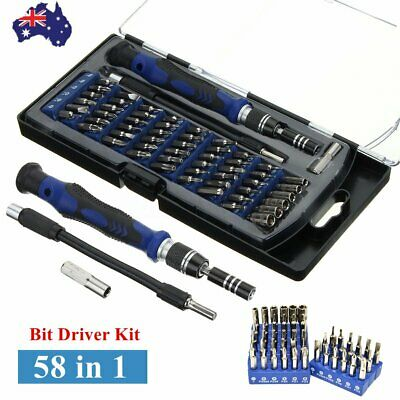 58 in1 Screwdriver Set Precision Magnetic Driver Kit w/54 Bits for iPhone iPad