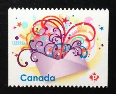 Canada #2314i Die Cut MNH, Celebration in the Mail Stamp 2009