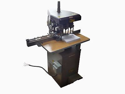 Challenge Heavy Duty Industrial 3-Hole Hydraulic 1Hp Paper Drill Eh3A 208/230V