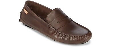 a135a8bea44 Men Casual Shoes Cole Haan Coburn Penny Driver II Leather Loafers Java Brown