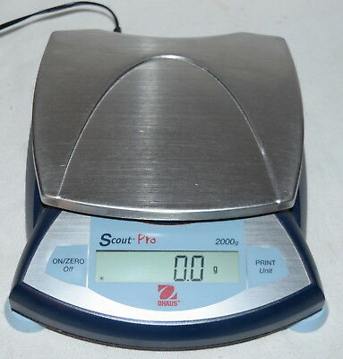 Ohaus Sp2001 Scout Pro Scale Used #5