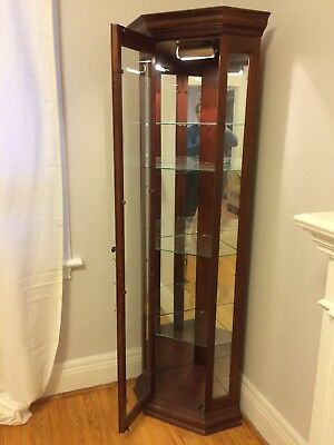 Curio cabinet  80 plus inch tall