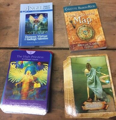 Angel Tarot Cards & Enchanted Map Cards Doreen Virtue