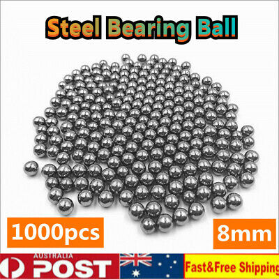 1000pcs Steel Replacement Parts 8mm Bike Bicycle Steel Ball Bearing Hunting Ammo