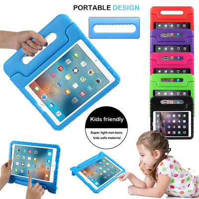 "For iPad 9.7"" 2018 6th Generation Case Cover Kids Shockproof Foam Handle Stand"