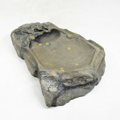 H932: Chinese sculptured ink stone with good taste of popullar TANKEI style