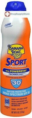 Banana Boat Sunscreen Ultra Mist Sport Performance SPF 30 Sunscreen 6 oz
