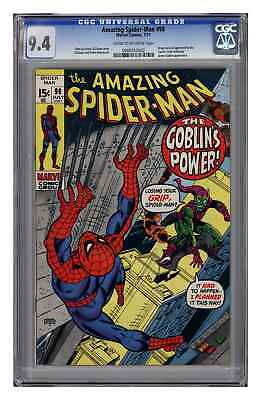 Amazing Spider-Man #98, CGC 9.4, Cream to Off-White Pages.