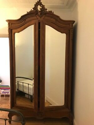antique armoire wardrobe