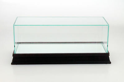 Triple9 Glass Display Cabinet with Wooden Base for Model Cars in 1:18