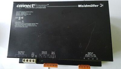 Weidmuller 791896 0324 Power Sonnect Power Supply (Rs5.4)