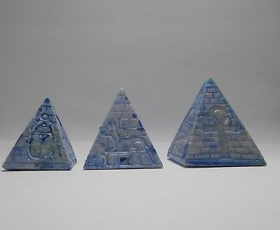 ANCIENT EGYPATIAN Pyramids Of Marble_Antiques