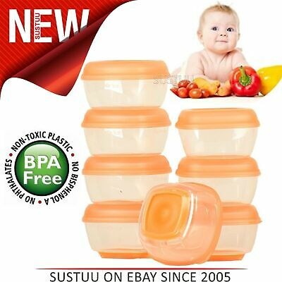 Vital Baby Press 'n' Pop Mini Freezer Pots│Baby Food Container│Ideal For Weaning