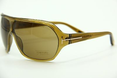 a834baad2cec TOM FORD TF 86 348 Warren Brown Authentic Sunglasses 67-4 W case ...