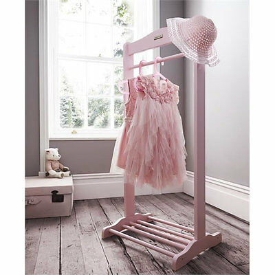 Brand new in box Izziwotnot solo hanging rail in baby pink with shoe rack