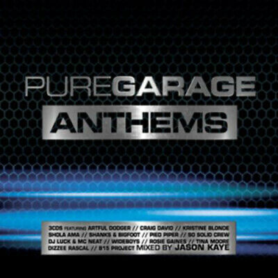 Various Artists : Pure Garage Anthems CD (2011)