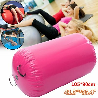 Inflatable Air Roller Home 105x90cm Large Gymnastics Cylinder GYM Gymnastic Beam
