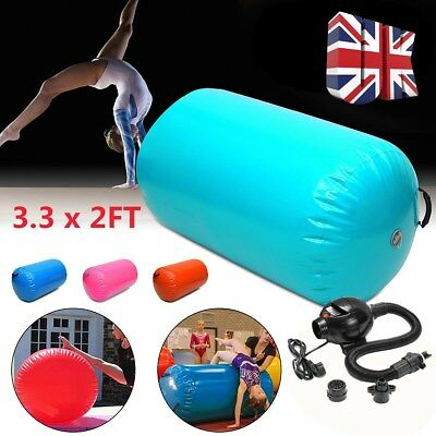 100x65cm Inflatable Air Roller Home Large Gymnastics Cylinder GYM Gymnastic Beam