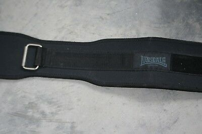 Lonsdale weight lifters lifting belt