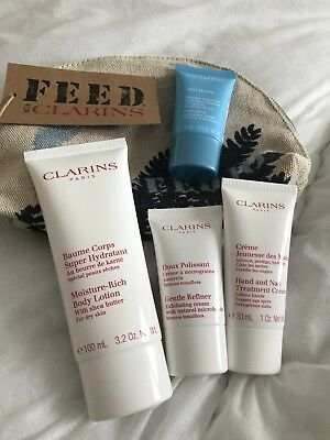 Clarins Face And Body Set