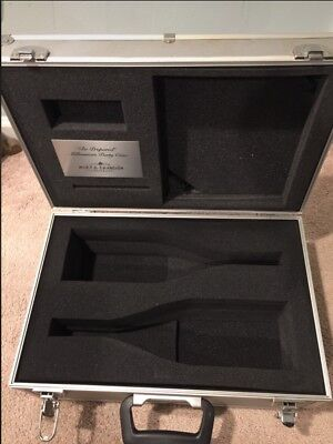 Moet Chandon Year 2000 Collectible Metal Carry Case Pre Own