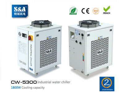AC220V S&A CW-5300AI Water Chiller FOR 200W CO2 laser, 100W Laser Diode