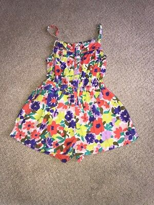 Mini Boden romper Jumper size 7-8 Flowers