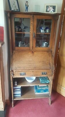 Writing Bureau and book case.