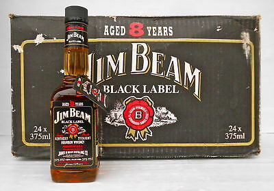 Jim Beam Black Label 8 Year 375ml 90 Proof -Not Rare- IMPOSSIBLE!!!!!
